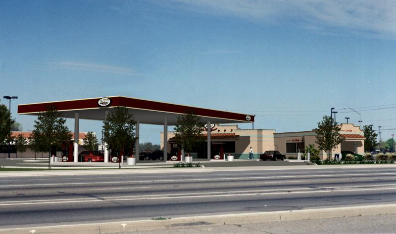Bad Bud's Gas Station, Fresno, CA