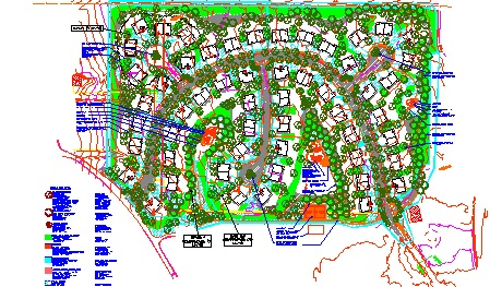 Malmstrom AFB Housing Project Site Plan