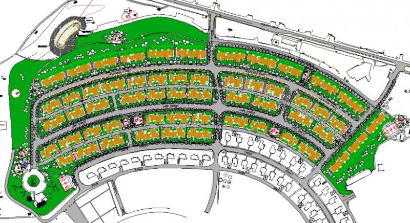 Housing Project Site Plan